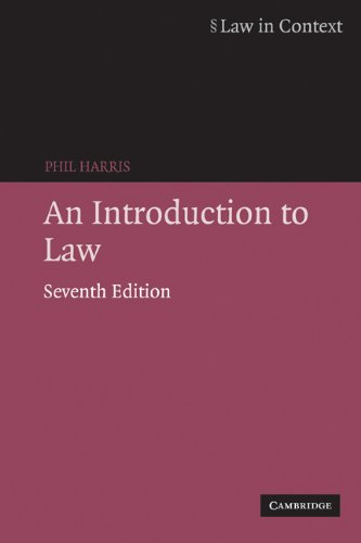 An Introduction to Law (Law in Context) (English Edition)