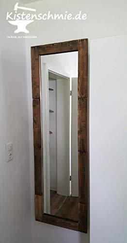"\""Deep Wall\"" - Wandspiegel in alter Weinkisten-Optik"