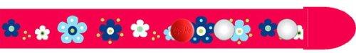 Clip-Ho Clipho Gürtel ohne Schnalle Blumen rot 128-146