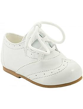 Sevva Baby Boys Shoe Leo White Size 8 (EU 25, 42-48 Months)