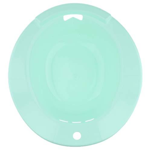perfeclan Bidet Sitzbad Bidetbecken Sitzwanne Sitzbecken Einsatz-Bidet Kunststoff, Ungiftig, geschmacklos und langlebig - Grün, 38 cm