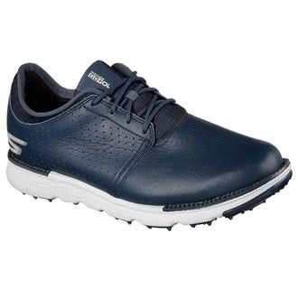 Skechers Go Golf Elite 3 Approach LX, Scarpe da Golf Uomo M US, Bianco (White/Black), 44 EU