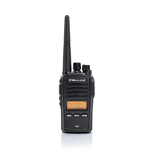 Oferta de Midland G18 Radio portatil-Walkie Talkie, Negro