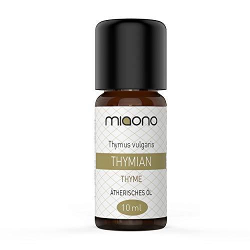 Thymianöl - 100% naturreines, ätherisches Öl (10ml) von miaono (Glasflasche)