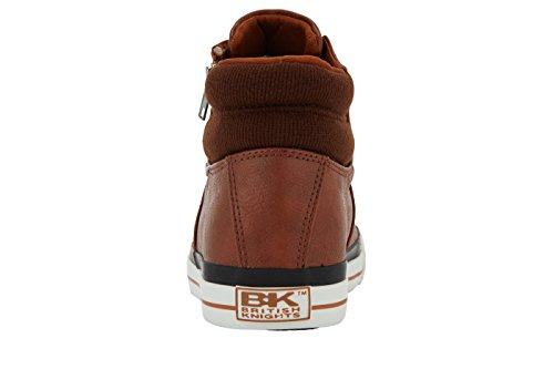 British Knights DINK UNISEX ALTE SNEAKERS COGNAC/MARRONE SCURO