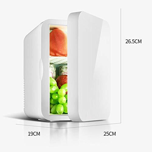 Mini-Kühlschrank 6L / 12V + 220V Tragbarer Auto-Kühlschrank Thermoelektrischer Mini-Kühlschrank mit doppeltem Verwendungszweck und Reise-Kühlbox