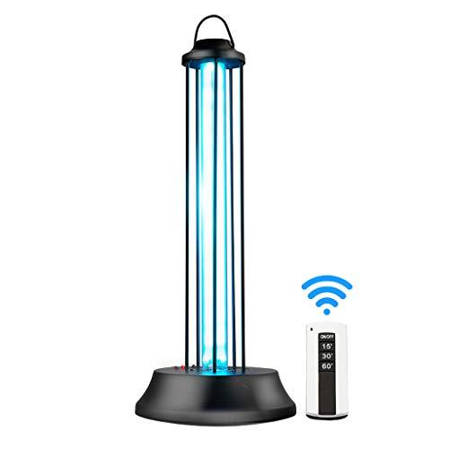 XN UV lamp Keimtötende Lampe Desinfektion Lampe Luftreinigung Lampe Haushaltsmilben Sterilisator Licht Fernbedienung Für Auto Haushalt Schule Hotel Pet Area (Uv-lampe Keimtötende)