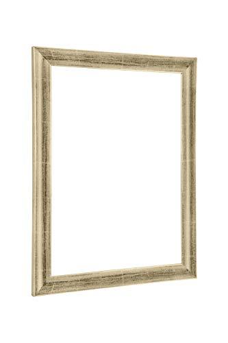NiRa35-Top Cadre Photo 50x70 cm en Couleur Titangold avec Verre Acrylique antireflet
