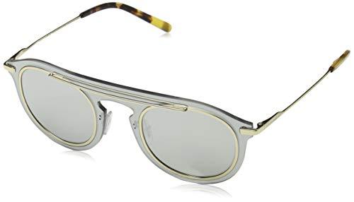 Ray-Ban Herren 0DG2169 Sonnenbrille, Grau (Light Grey Mirror Silver), 48