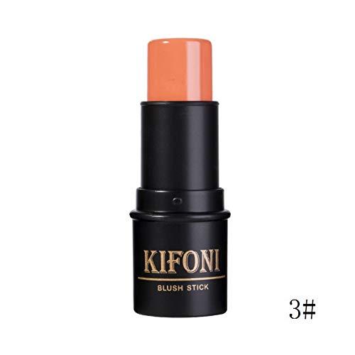 Allbesta Shimmer Blush Cream Stick Highlighter Bronzer Cheek Contour Rouge Aufhellen Haut Make-up - Bronzing Stick