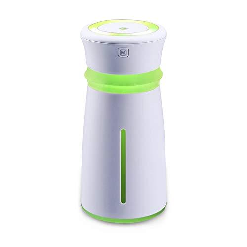 Humidificador 300 ml de Gran Capacidad USB Mini Escritorio de Oficina Hogar Portátil Sin Agua Cierre...