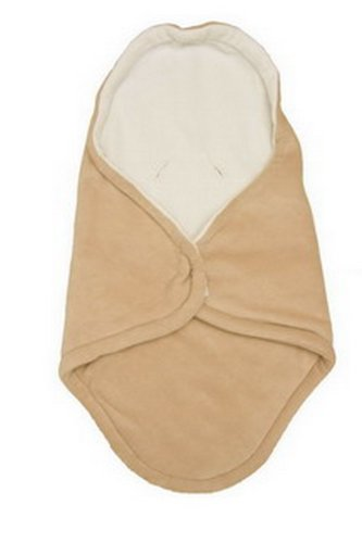 Babyzubehör HLUSIN 1011150901 Kuschel Cooc Classic, Länge circa 86 cm,Breite circa 45 cm bzw.92 cm, camel/natur