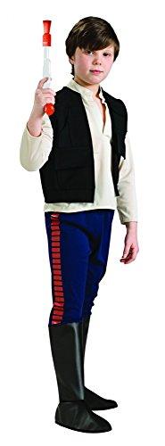 Rubies Deutschland 3 883163 M - Deluxe Han Solo Größe (Kostüme Halloween Themen Science)
