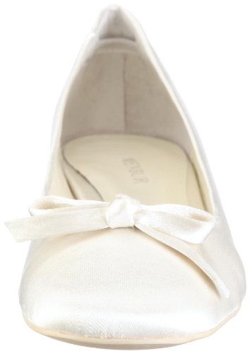 Menbur Wedding Alicia 4348, Damen Ballerinas, Elfenbein (Ivory 04), EU 38 - 4