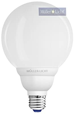 1x ML Energiesparlampe Globe 20W / 230V / E27 dimmbar (14402)