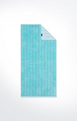 JOOP! - Frottier Handtuch in verschiedenen Größen und Farben, Breeze Pinstripe (1649), Größe:Duschtuch (80 x150 cm), Dessin:Sea (47)