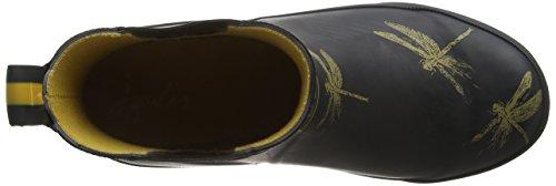 Joules - Wellibob, Stivali da Pioggia, Donna Nero (Black Dragonfly)