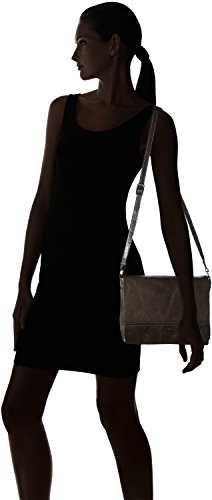 GERRY WEBER Lugano Flap Bag, Borsa a tracolla donna DarkBrown