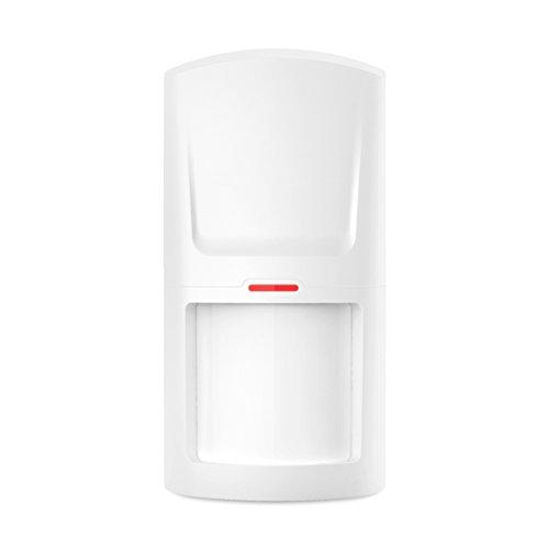 Model M2FX GSM Funk Alarmanlage mit Touchpad Monitor + Alarm SMS Anruf * Service + Support + Garantie * 100 Zonen erweiterbar * IOS Android APP-Fernbedienung * Set 1 mit 1 Bewegungsmelder + 1 Türkontakten - 4