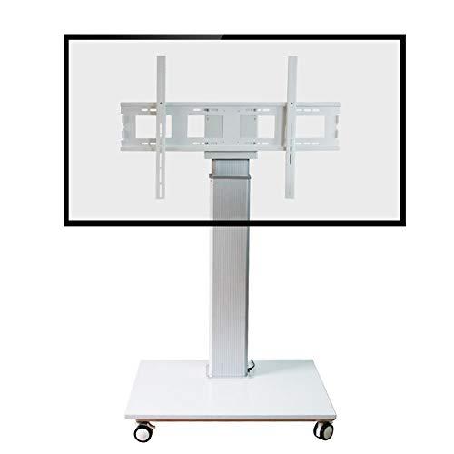Xue Electric TV Stand Mobile TV Cart, Altezza di Regolazione A ...