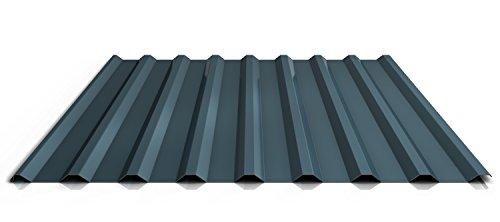 Trapezblech | Profilblech | Dachblech | Profil PS20/1100TR | Material Stahl | Stärke 0,45 mm | Beschichtung 25 µm | Farbe Dunkelgrau