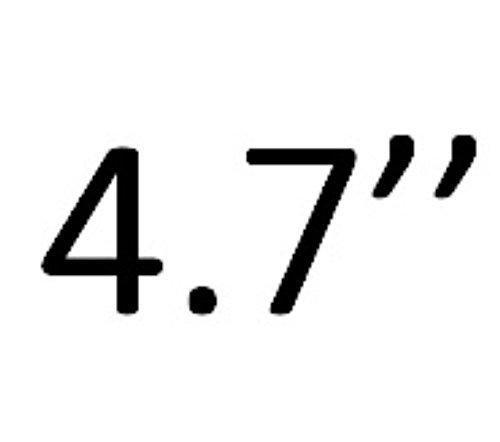 FLOVEME Custodia per iphone 7/6/6s Portafoglio a Libro 2 in 1 in Pelle Multifunzionale Carta Slot Staccabile Case Cover per iphone 6/iphone 6s/iphone 7 4.7 Pollici, Colore Marrone Nero