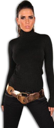 instyle-t-shirt-crayon-uni-femme-noir-noir-36-38