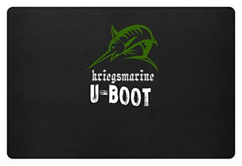 Schwertfisch Kostüm - Generic Kriegsmarine U-Boot Schwertfisch Navy Marine Bundeswehr - Schlichtes Und Witziges Design - Fußmatte