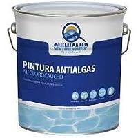 QUIMICAMP Pintura antialgas al clorocaucho Azul. 20 Kilos