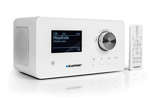 BLAUPUNKT IRD 30 Internetradio- DAB+-Radio - Digitalradio mit Radiowecker - Wlan Küchenradio- Digital-Radio als Badradio - DAB - UKW-Tuner - Miniradio in Retro-Design - Uhrenradio