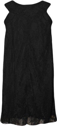 WearAll - Débardeur extensible sans manches en dentelle - Hauts - Femmes - Grandes tailles 40 à 54 Noir