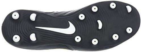 Nike 259429 - LS-Top, Maglietta da uomo Nero (Black/white-black)