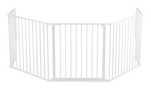 Baby Dan 56814-10400-10 Flex Xl 5 Cancelletto, Bianco