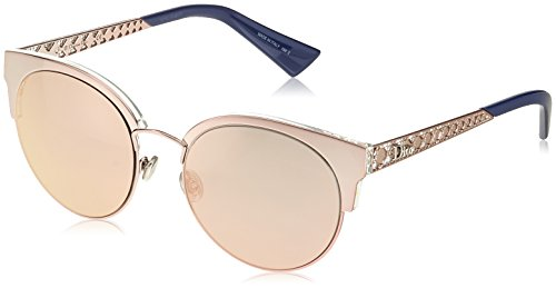 Dior Damen DIORAMAMINI 0J S8R Sonnenbrille, Light Pink Rose Gd Grey Speckled, 54