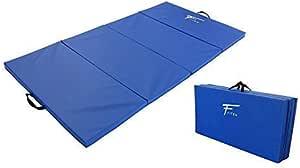 Matelas de Gym /Épais et Pliable pour la Maison; Longueur Largeur /Épaisseur 120 cm PRISP Tapis de Sol 240cm pour Gymnastique et Fitness 5 cm 240 cm