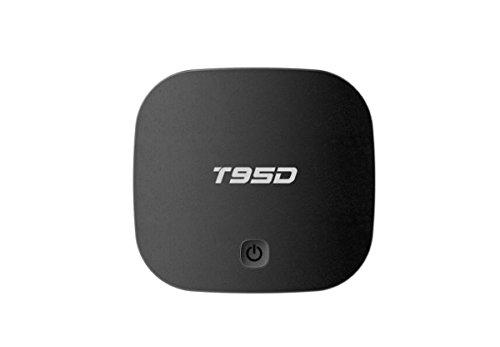 DONG Set-Top-Box STB TV-Box Digital TV T95D RK3229 Android 5.1 2 GB + 16 GB Quad-Core-Wireless-Netzwerk Smart HD Heimgebrauch Kunststoff (10,2 * 10,2 * 2,3 cm Schwarz) Quad Vcr