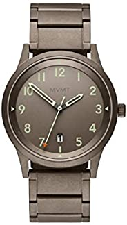 MVMT Men's Taupe Dial Ionic Plated Taupe steel Watch - 280000