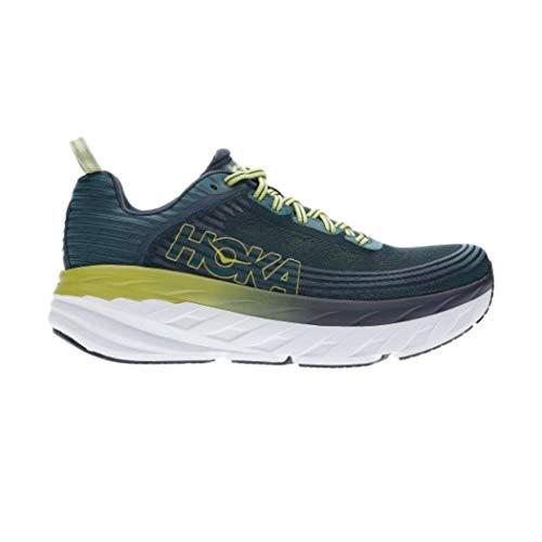 Hoka Bondi 6, Zapatillas de Running por Hombre, Azul (Deep Teal/Green Oasi...