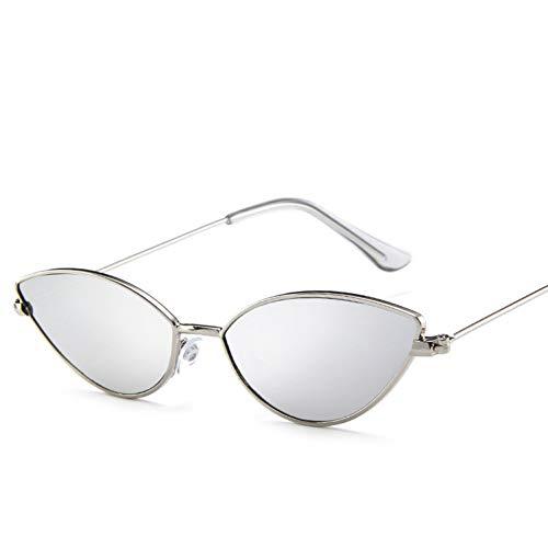 KUNHAN Sonnenbrille Süße Sunglases Frauen Metall TriangleSun Brille weiblich