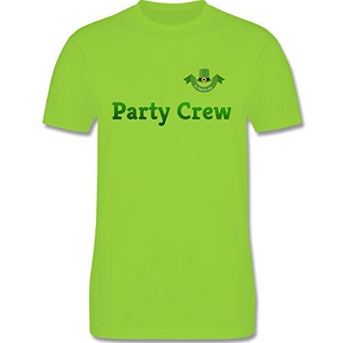 Festival - St. Patricks Day Party Crew - Herren Premium T-Shirt Hellgrün