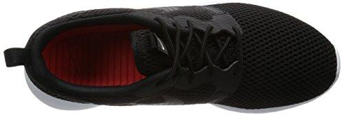 Nike Roshe One Hyp Br, Chaussures de Sport Homme Negro (Black / Black-White)