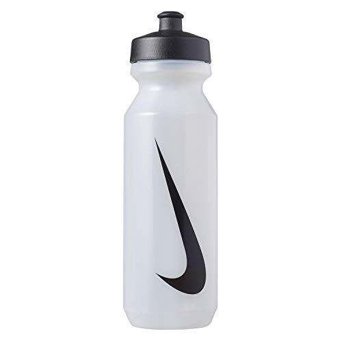 Nike big mouth bottle 2.0 22 oz - borraccia da 650 ml, unisex, n.000.0042.968.22, clear/black/black, taglia unica