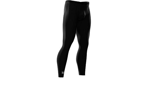Compressport T2 Pantaloni Aderenti da Uomo Colore Nero