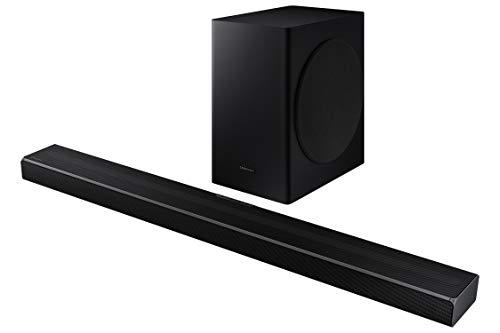Oferta de Samsung Barra de Sonido HW-Q60T - Sonido 360W, 5.1Ch, Subwoofer inalámbrico, Dolby Digital 5.1, DTS Virtual:X, Q-Symphony y Tecnología Acoustic Beam