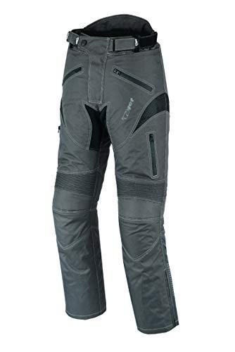 Jet pantaloni moto uomo con protezioni impermiabile dynamo (54 lungo/vita 38