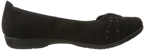 Softline 22162, Ballerine Donna Nero (Black)