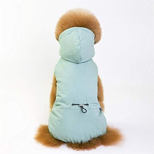 Dog Star Kostüm - GOUSHENG-Costumes Haustiere Kleidung Kleider Hundeschlafanzug Vollbaumwolloverall Herbst Winter Hundebekleidung Vier Beine Warm Haustierkleidung Outfit Small Dog Star Kostüm Bekleidung, Grün, XXL