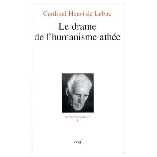 Le drame de l'humanisme athée