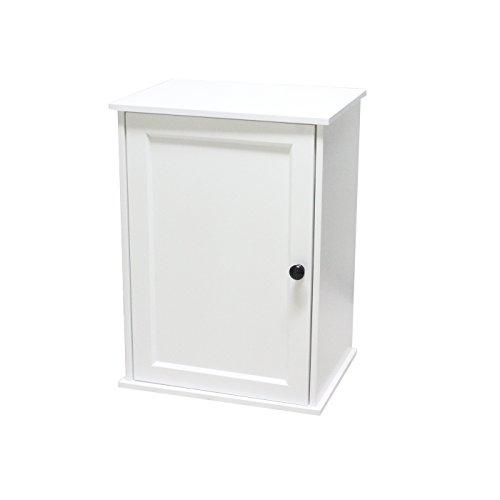 Mobile bagno sospeso mobile bagno moderno minimalista bianco realizzato in mdf ecocompatibile per case e bagni di piccole dimensioni (b40*t30*h55)