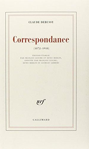 Correspondance: (1872-1918)